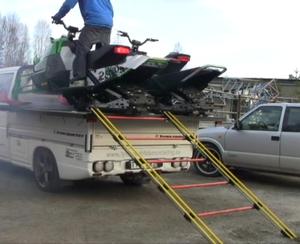 Uppkörningsramp Lastbil