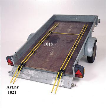 Uppkörningsramp släpvagn